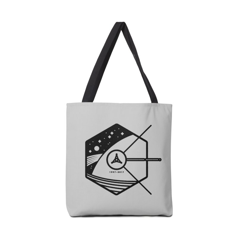 In Honour of Cassini–Huygens Accessories Bag by gintron's Artist Shop