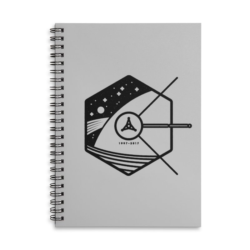 In Honour of Cassini–Huygens Accessories Lined Spiral Notebook by Gintron
