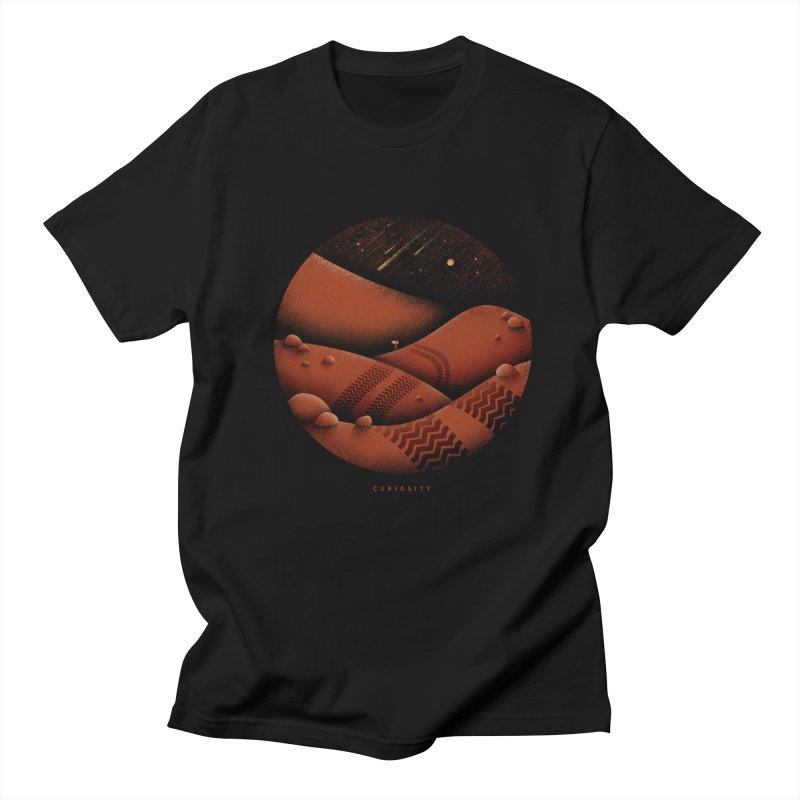 Curiosity Men's T-Shirt by Gintron
