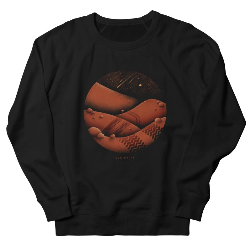 Curiosity Women's French Terry Sweatshirt by gintron's Artist Shop