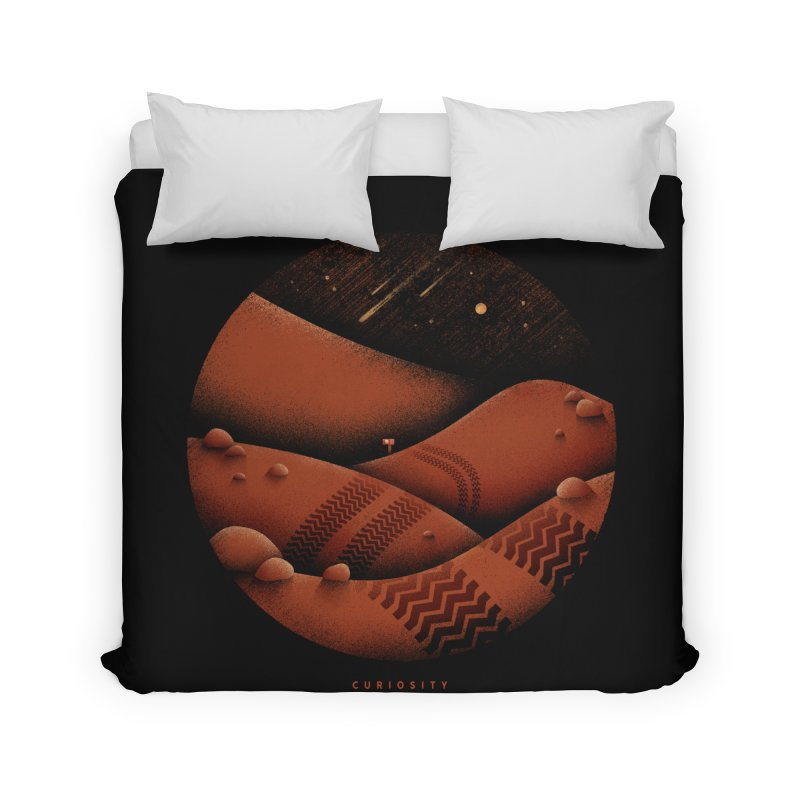 Curiosity Home Duvet by gintron's Artist Shop