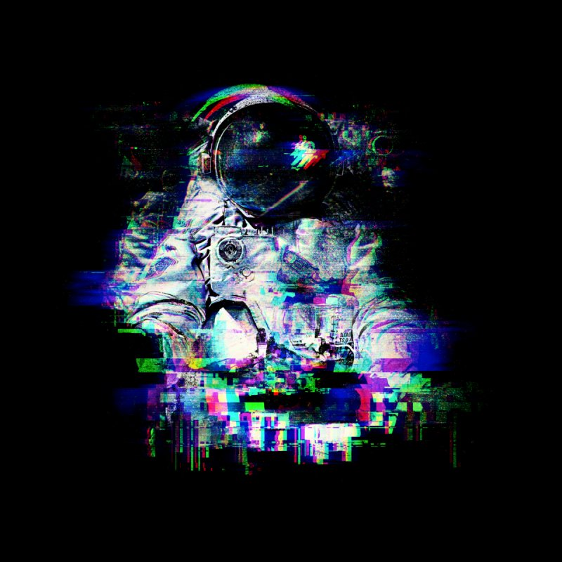 Space Glitch by Gintron