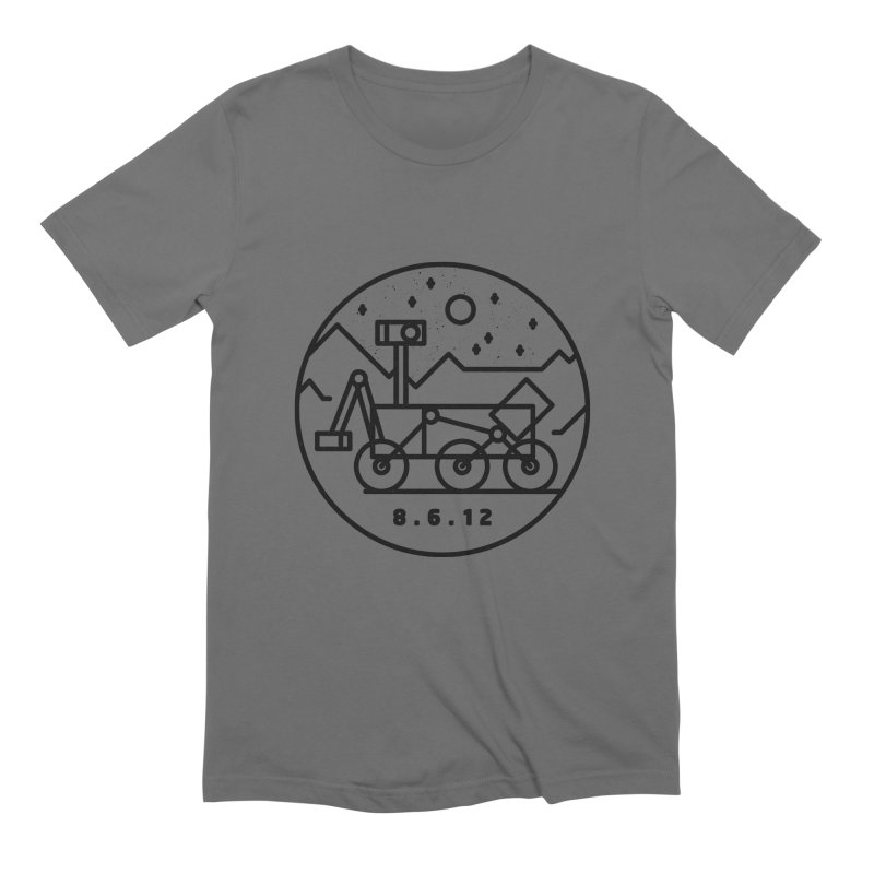 Stay Curious Men's T-Shirt by Gintron