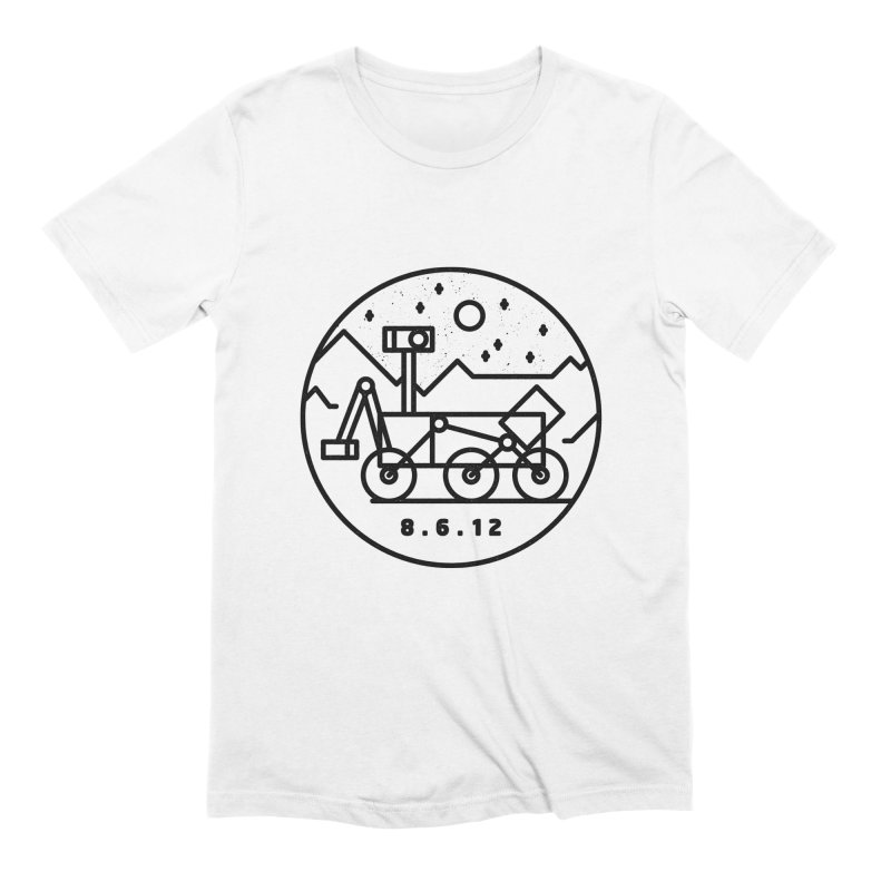 Stay Curious Men's Extra Soft T-Shirt by Gintron
