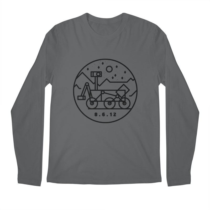 Stay Curious Men's Longsleeve T-Shirt by Gintron