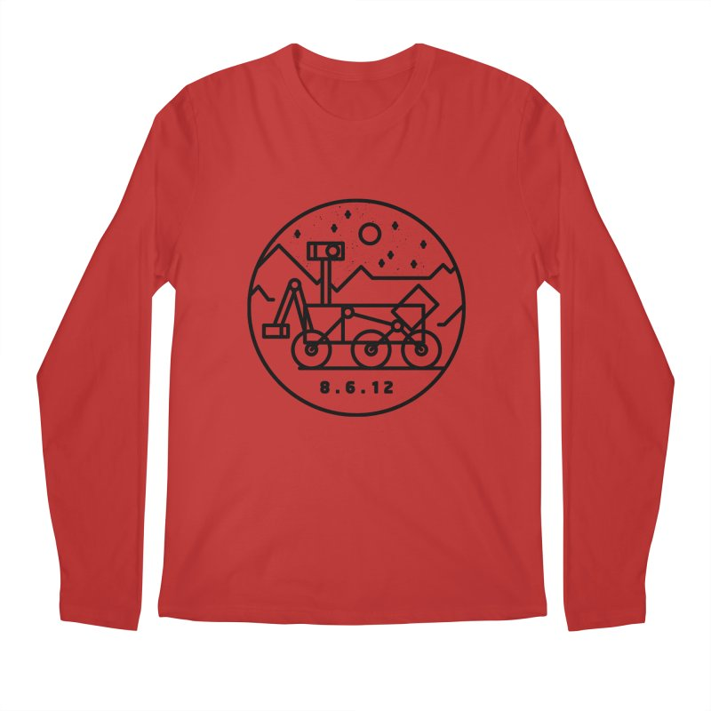 Stay Curious Men's Regular Longsleeve T-Shirt by Gintron