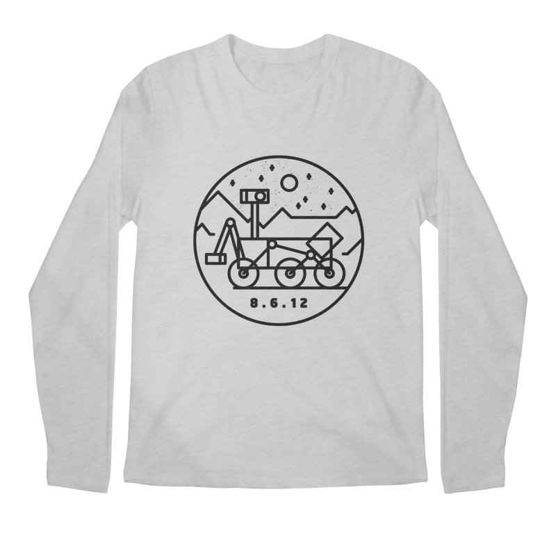 Stay Curious Men's Regular Longsleeve T-Shirt by gintron's Artist Shop