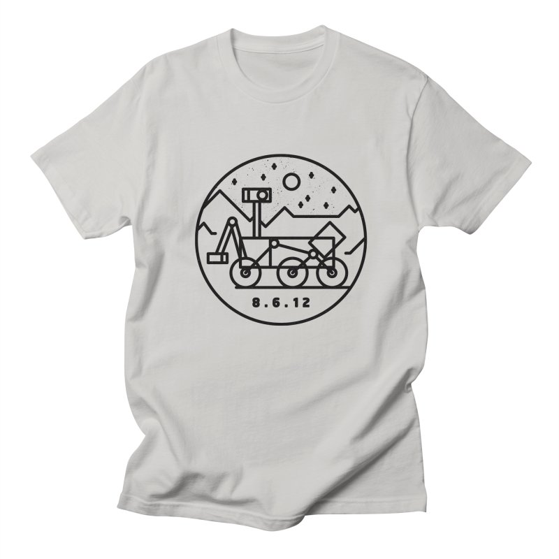 Stay Curious Men's Regular T-Shirt by Gintron
