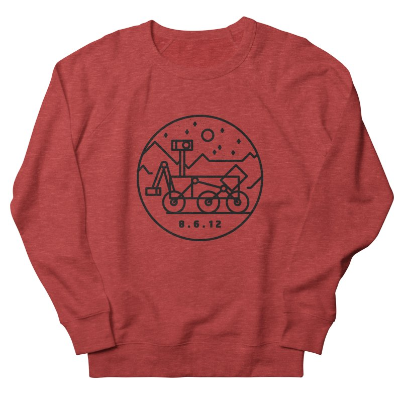 Stay Curious Men's French Terry Sweatshirt by Gintron