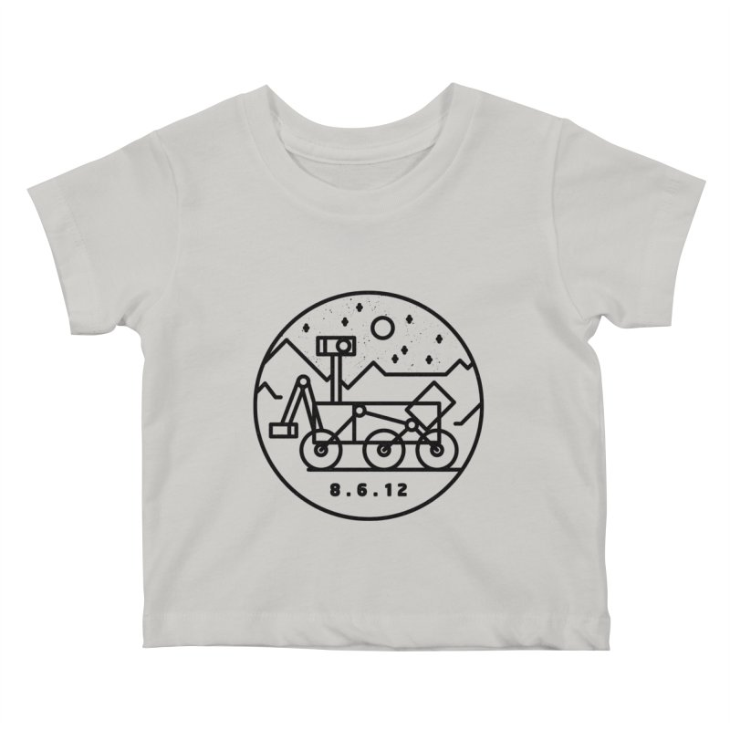 Stay Curious Kids Baby T-Shirt by gintron's Artist Shop
