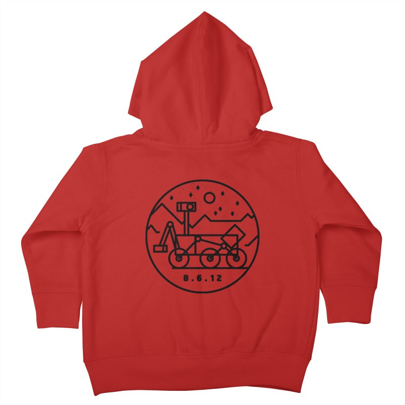 Stay Curious Kids Toddler Zip-Up Hoody by gintron's Artist Shop