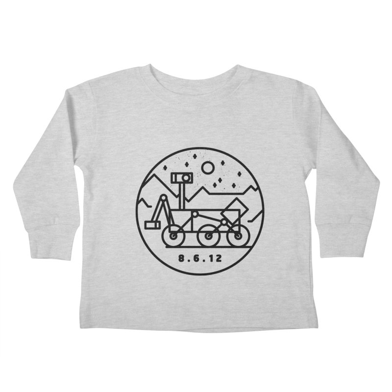 Stay Curious Kids Toddler Longsleeve T-Shirt by Gintron