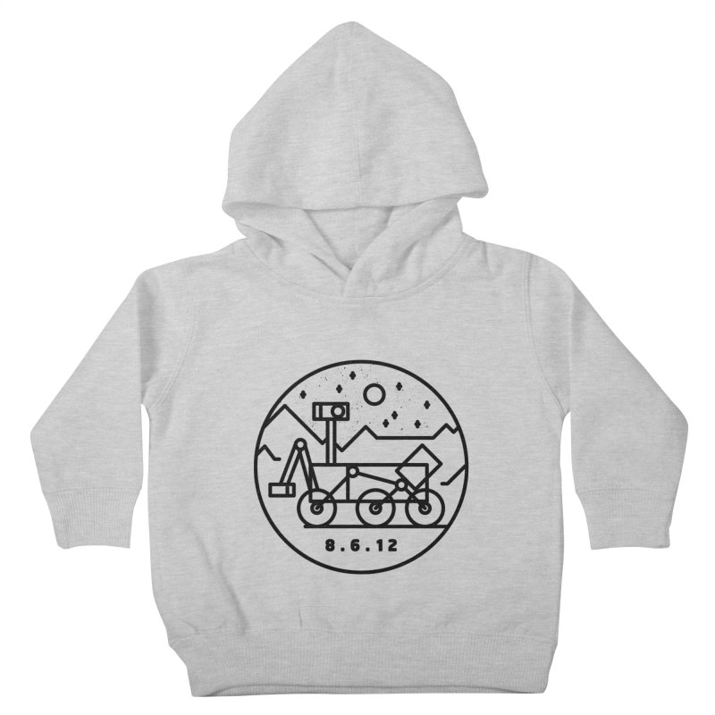 Stay Curious Kids Toddler Pullover Hoody by Gintron