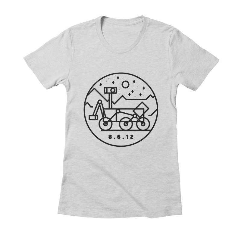 Stay Curious Women's Fitted T-Shirt by Gintron