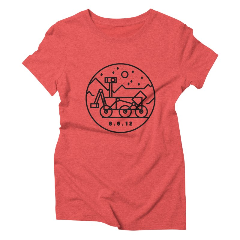 Stay Curious Women's Triblend T-shirt by gintron's Artist Shop