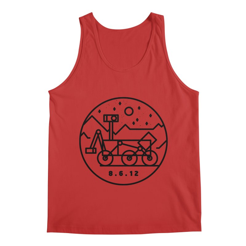 Stay Curious Men's Regular Tank by Gintron