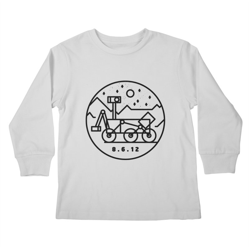 Stay Curious Kids Longsleeve T-Shirt by Gintron