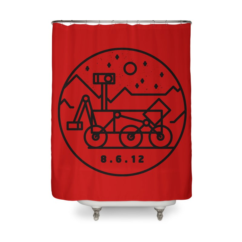 Stay Curious Home Shower Curtain by Gintron