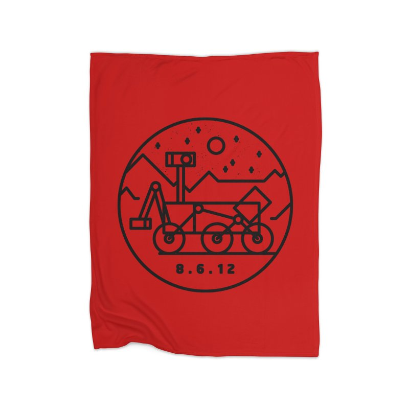 Stay Curious Home Blanket by gintron's Artist Shop