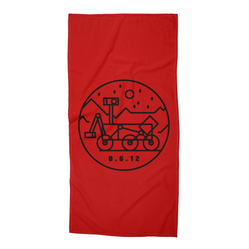 Stay Curious Accessories Beach Towel by gintron's Artist Shop