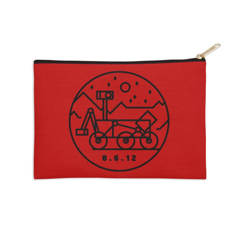 Stay Curious Accessories Zip Pouch by Gintron