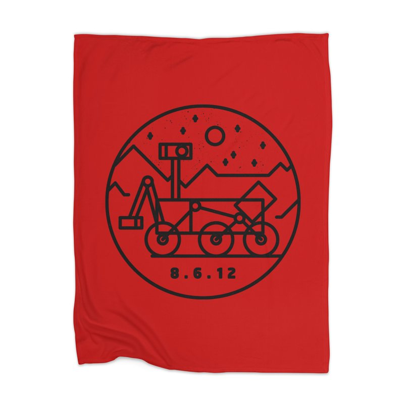 Stay Curious Home Blanket by Gintron