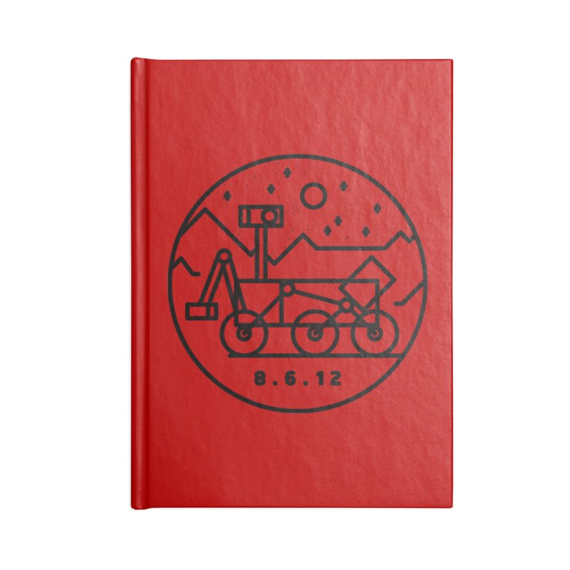 Stay Curious Accessories Lined Journal Notebook by Gintron