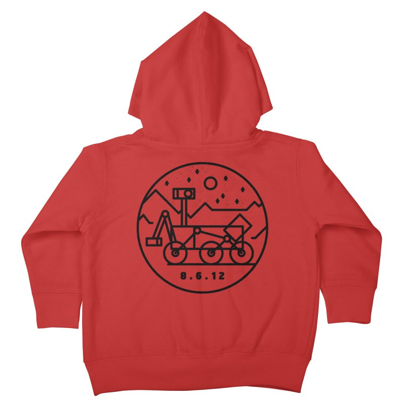 Stay Curious Kids Toddler Zip-Up Hoody by Gintron