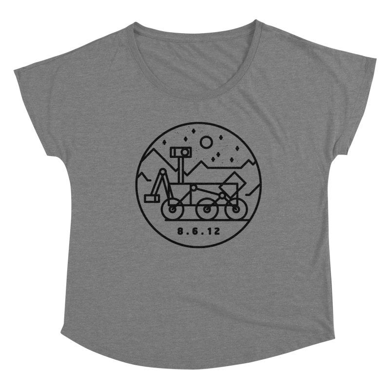 Stay Curious Women's Scoop Neck by Gintron