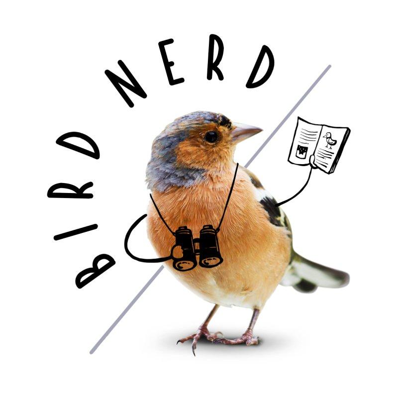 Bird Nerd Men's Pullover Hoody by Gintron