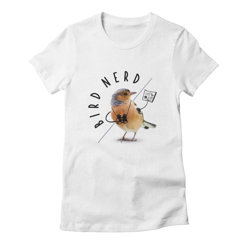 Bird Nerd Women's T-Shirt by Gintron