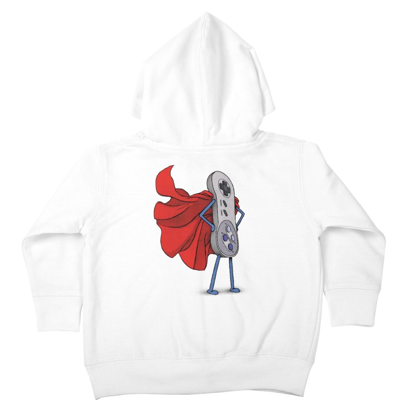 Super Nintendo Controller! Kids Toddler Zip-Up Hoody by gintron's Artist Shop