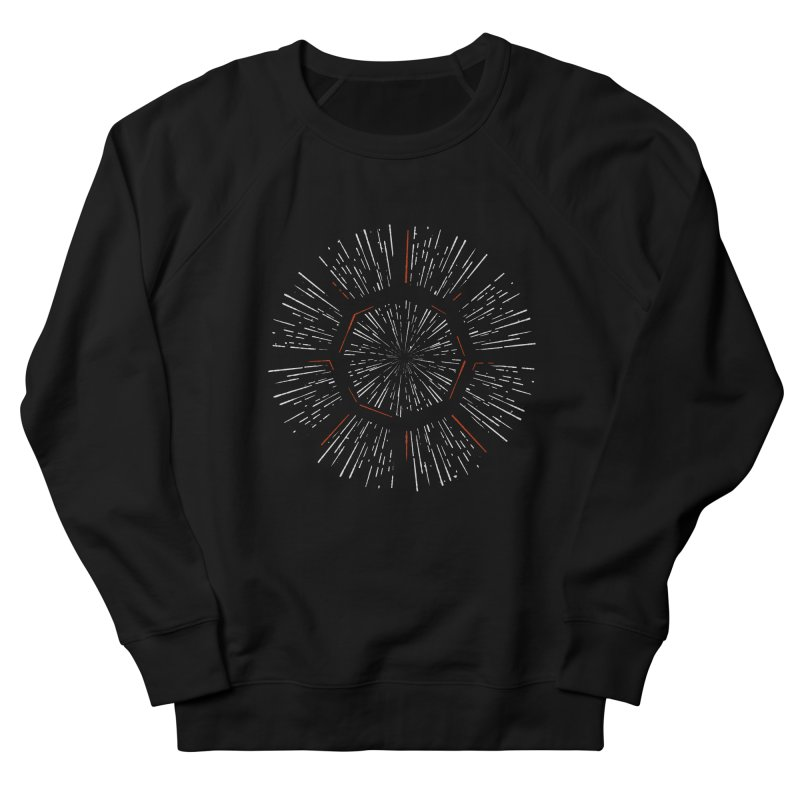 Light Speed Women's French Terry Sweatshirt by gintron's Artist Shop