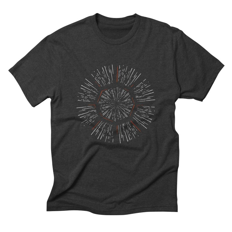 Light Speed Men's Triblend T-Shirt by gintron's Artist Shop