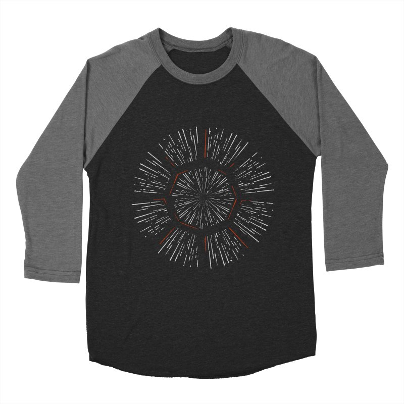 Light Speed Men's Baseball Triblend Longsleeve T-Shirt by gintron's Artist Shop