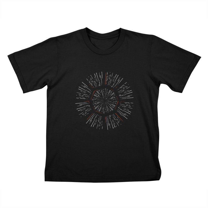 Light Speed Kids T-Shirt by Gintron