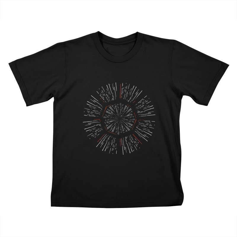 Light Speed Kids T-shirt by gintron's Artist Shop