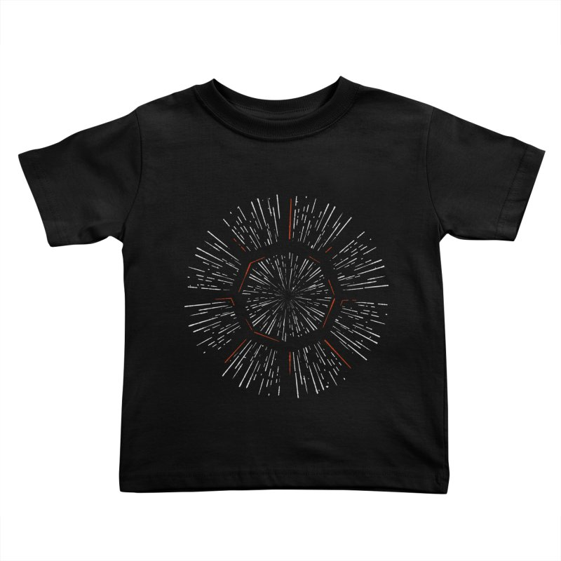 Light Speed Kids Toddler T-Shirt by gintron's Artist Shop