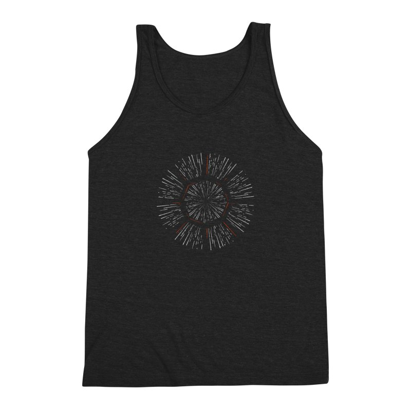 Light Speed Men's Tank by Gintron