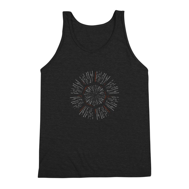 Light Speed Men's Triblend Tank by Gintron
