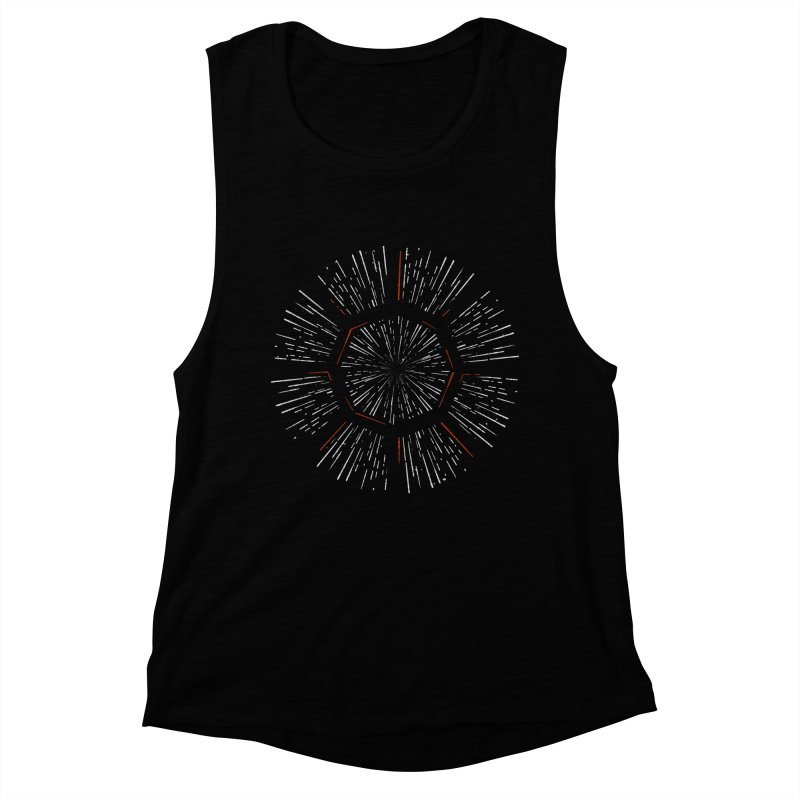 Light Speed Women's Muscle Tank by Gintron