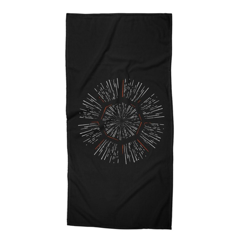Light Speed Accessories Beach Towel by gintron's Artist Shop