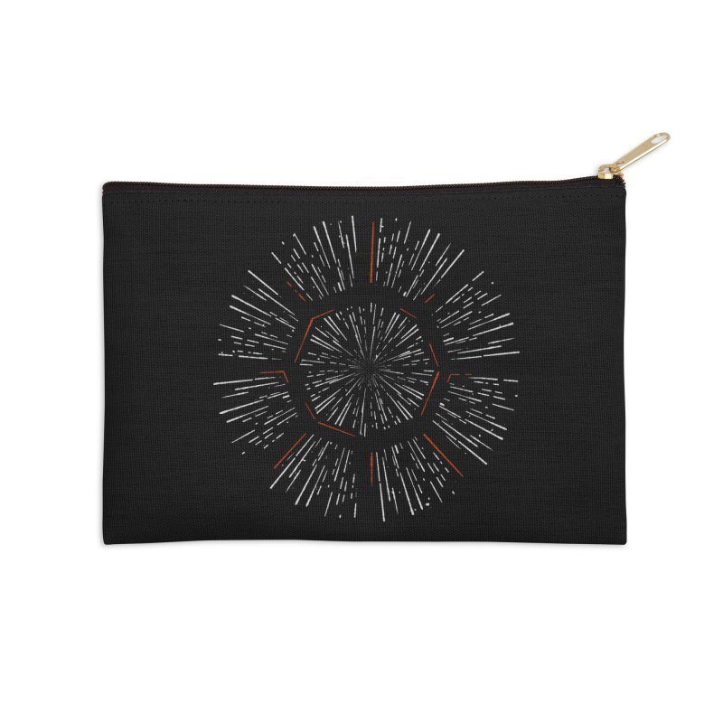Light Speed Accessories Zip Pouch by gintron's Artist Shop
