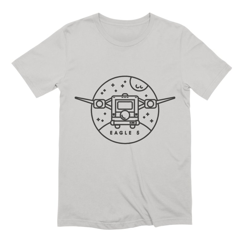 Eagle 5 Men's Extra Soft T-Shirt by gintron's Artist Shop