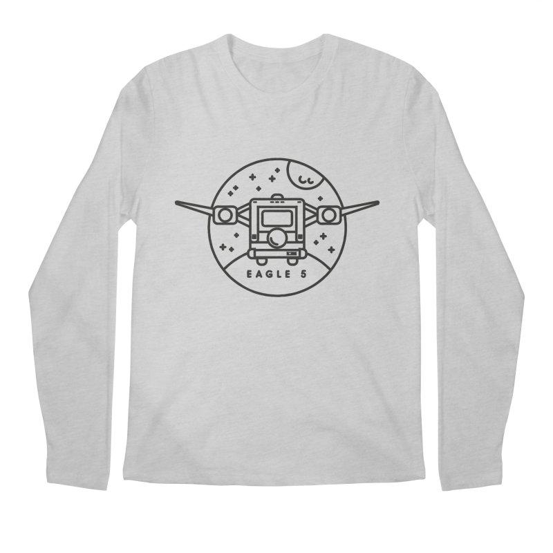 Eagle 5 Men's Regular Longsleeve T-Shirt by gintron's Artist Shop