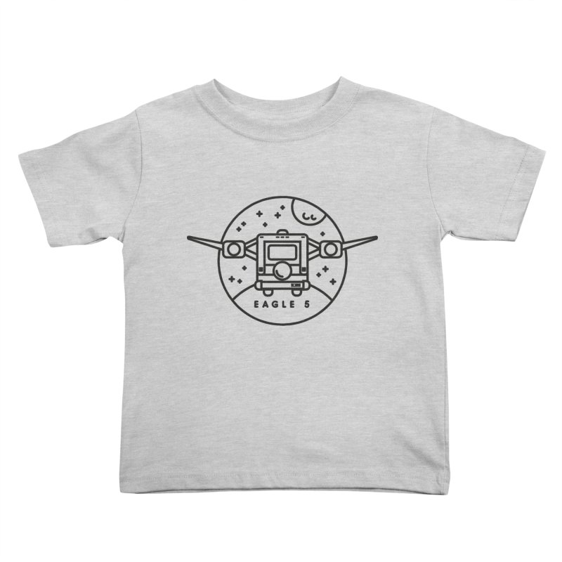 Eagle 5 Kids Toddler T-Shirt by gintron's Artist Shop