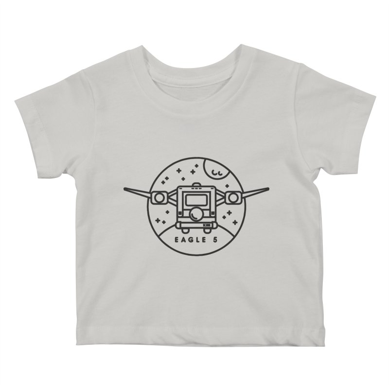 Eagle 5 Kids Baby T-Shirt by gintron's Artist Shop