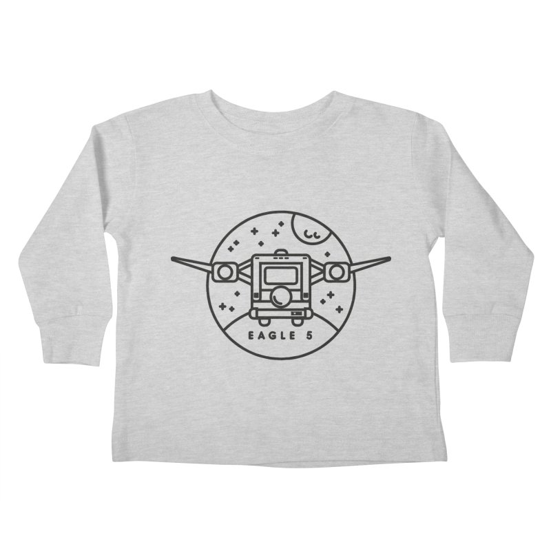 Eagle 5 Kids Toddler Longsleeve T-Shirt by gintron's Artist Shop