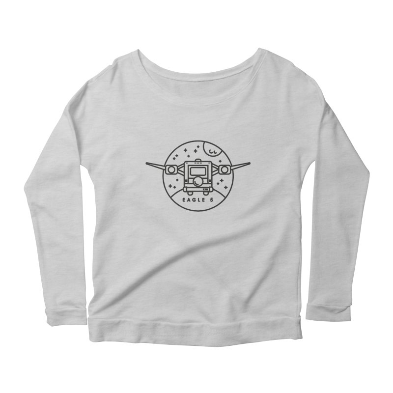 Eagle 5 Women's Scoop Neck Longsleeve T-Shirt by gintron's Artist Shop