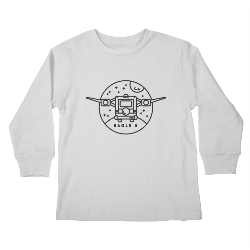 Eagle 5 Kids Longsleeve T-Shirt by Gintron